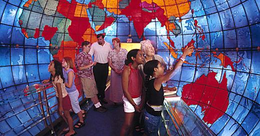Mundo de Vidro – Biblioteca nos Estados Unidos